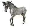 HEAVENLY JAZ - DAPPLED GREY THOROUGHBRED MODEL HORSE - LE15 - 10/6