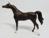 RINGO-OOAK DARK LIVER CHESTNUT ARABIAN  MODEL HORSE CHIP 5/26/17