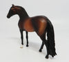STURGIS-OOAK DAPPLE BAY ANDALUSIAN CHIP MODEL HORSE BY SHERYL LEISURE 5/26/17