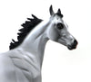INKHEART - OOAK LIGHT GREY ARABIAN YEARLING MODEL HORSE - 10/12