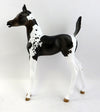 TIMBER-LE-3 SEAL BAY PAINT FOAL MODEL HORSE 12/28