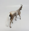SLADE-OOAK DAPPLED GREY WARMBLOOD CHIP MODEL HORSE 06/07/17