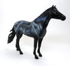 WHISPERING GHOST - OOAK HALLOWEEN DECORATOR MUSTANG MODEL HORSE - 10/15