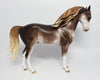 HEARTBREAK HOTEL~OOAK CHESTNUT SABINO ANDALUSIAN MODEL HORSE BY SHERYL LEISURE 6/6/17