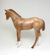 AVANSHEE SHEERIN -  LIGHT CHESTNUT WEANLING MODEL HORSE WITH CAPE
