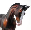 AMERICAN HERO - DAPPLE SEAL BAY PAINT THOROUGHBRED - LE4 - 11/6