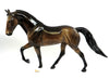 REMODELED-OOAK DAPPLED SOOTY BUCKSKIN TENNESSEE WALKING HORSE 02/22/17
