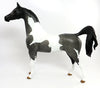 HASHTAG-OOAK GREY PAINT ARABIAN MODEL HORSE 2/22