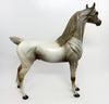 RUNNIN OUT OF SPOTS-OOAK FEW SPOT APPALOOSA ARABIAN MODEL HORSE 02/22/17