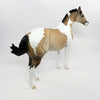 FLASH-N-GO-OOAK BUCKSKIN PAINT ISH MODEL HORSE BY DAWN QUICK CUSTOMIZED BY JT 02/24/17