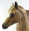 CARMEL D' APPLE-DAPPLE CHESTNUT ISH MODEL HORSE BY SHERYL LEISURE-LE-4 9/29