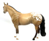 HAPPY DAYZ-OOAK BLANKET BUCKSKIN APPALOOSA ISH MODEL HORSE 2/28