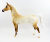 FLECK O GOLD-OOAK PALOMINO ROAN ARABIAN MODEL HORSE BY DAWN QUICK 03/03/17