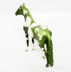 BAIRD~OOAK ST. PATRICKS DAY MORGAN CHIPS MODEL HORSE 3/9