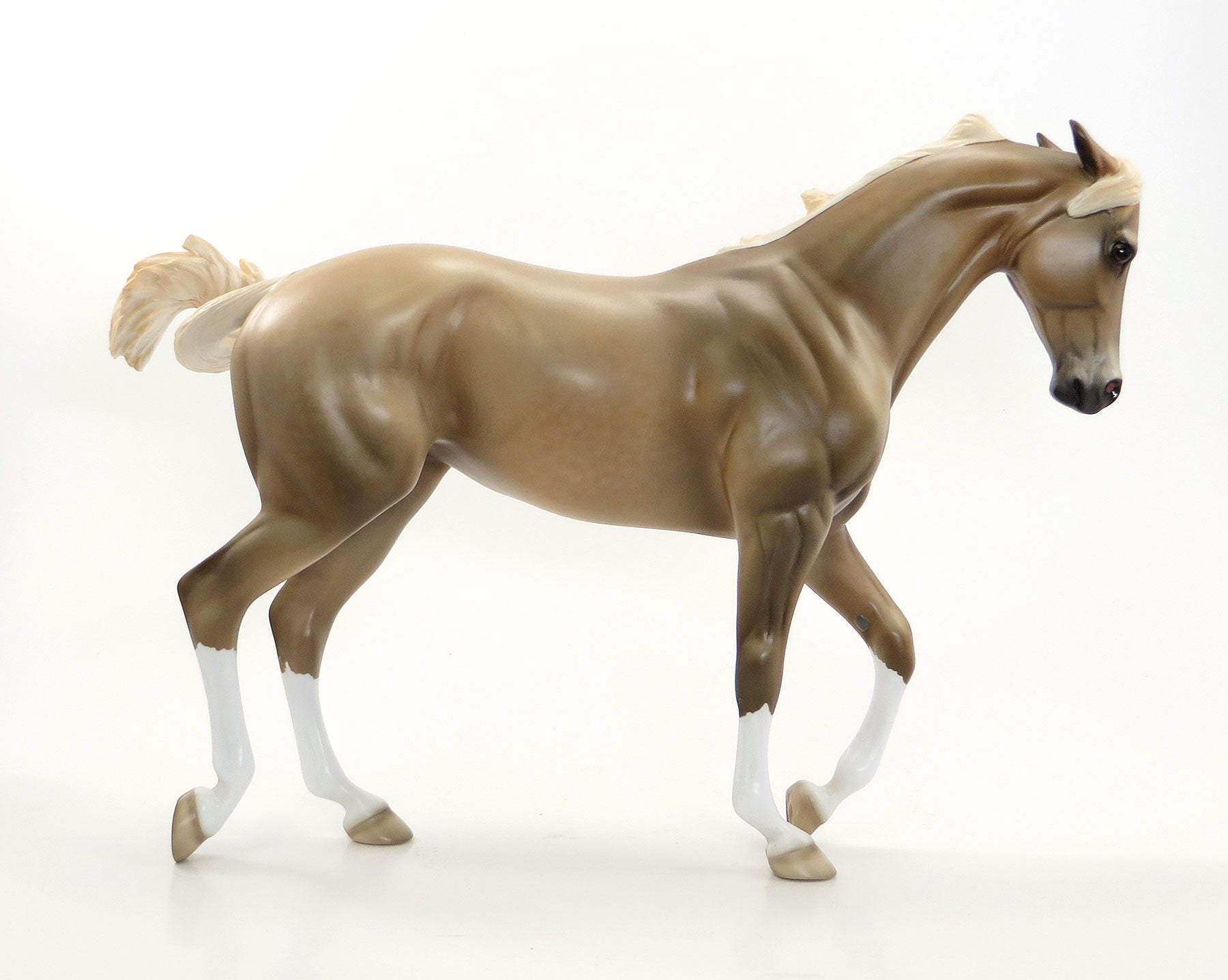 After The Gold Rush Dappled Palomino Thoroughbred Model Horse Mare Stone Horses