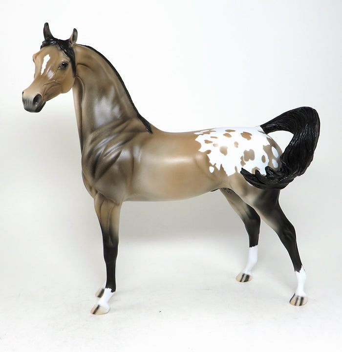 arabian appaloosa model horse