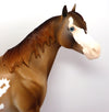 RODRIGO-OOAK CHESTNUT PAINT ISH MODEL HORSE BY DAWN QUICK 03/15/17
