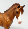 EMMA-OOAK RED DUN WEANLING MODEL HORSE 3/17/17