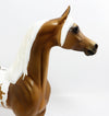 AUTUMN GOLD-OOAK GOLDEN PALOMINO APPALOOSA  ARABIAN MODEL HORSE 3/23