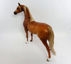 CHEVAL-LE-3 DAPPLE CHESTNUT ARABIAN MODEL HORSE 3/24