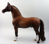 SEE ME STRUT-OOAK RED ROAN MORGAN MODEL HORSE 03/27/17
