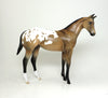 PS MOON PIE-LE-4 BUCSKIN APPALOOSA WEANLING MODEL HORSE SHCF 5/11