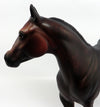PORTHOS~OOAK STAR DAPPLE BAY ISH MODEL HORSE BY SHERYL LEISURE 3/31