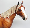 TWIGGY-OOAK DAPPLE SILVER BAY ISH MODEL HORSE BY SHERYL LEISURE 4/7/17