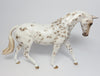 JUSTICE-OOAK CHESTNUT LEOPARD APPALOOSA ENGLISH PONY MODEL HORSE BY SHERYL LEISURE 4/7/17