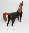 MILKY WAY-OOAK LIVER CHESTNUT ARABIAN MODEL HORSE 4/7/17
