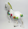 PETER~DAPPLE GREY EASTER DECORATOR TROTTING DRAFTER BY DAWN QUICK 4/10