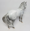 JOUBERT~OOAK DAPPLE GREY ANDALUSIAN MODEL HORSE BY DAWN QUICK 4/12