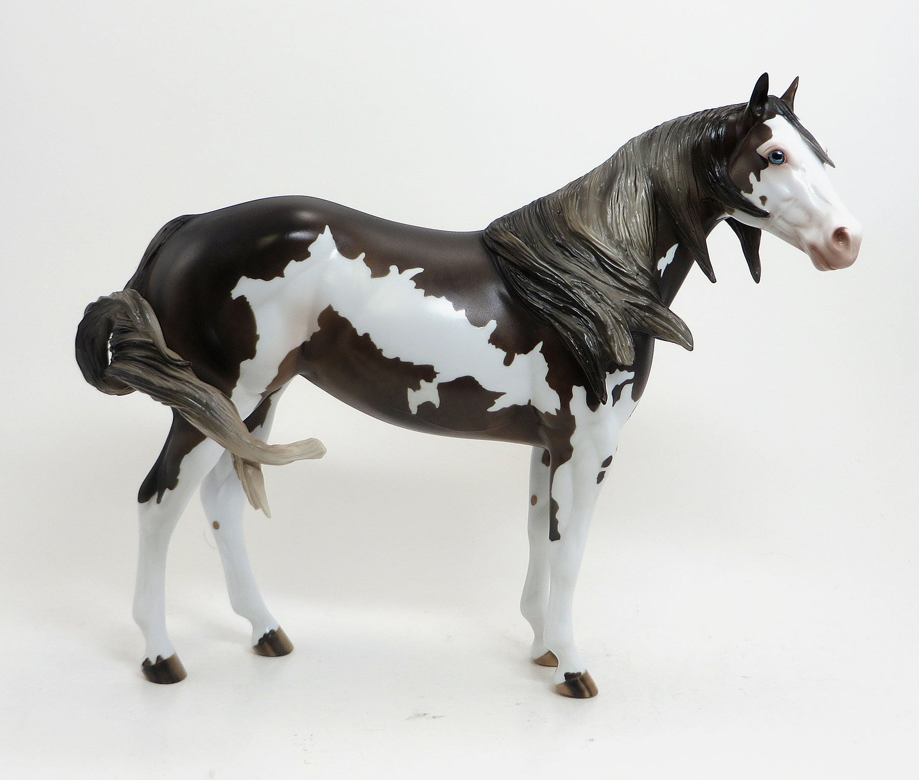 LANA DEL REY - Dappled Chocolate Paint Stock Model Horse Mare - LE6 - 8/21