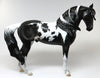 MEMORIAL DAY RELEASE~TRIBUTE-LE4 ETCHED BLACK PAINT WINDSWEPT ANDALUSIAN STALLION *PRE-ORDER*