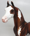ADEPT-OOAK BAY SPLASH PAINT ARABIAN MODEL HORSE 04/19/17