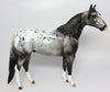 HAPPY APPY-OOAK GREY APPALOOSA ISH MODEL HORE BY DAWN QUICK 04/20/17