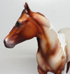 RONDO~OOAK RED ROAN PAINT ISH MODEL HORSE BY DAWN QUICK 4/20
