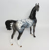 KETTERMAN-OOAK LOUD APPALOOSA ARABIAN MODEL HORSE 4/27