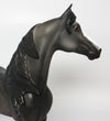 PANTHER-OOAK DAPPLE BLACK  MORGAN MODEL HORSE 04/17/17