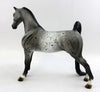 PAT PATRIOT-OOAK APPALOOSA SADDLEBRED PEBBLES BY ALLEN KATT 2/5/17