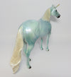 PERIWINKLE~OOAK GLOSSED BLUE ISH UNICORN EQ 2017