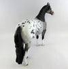 SCOOP-OOAK APPALOOSA ISH MODEL HORSE BY DAWN QUICK 10/15/16