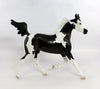 SCORE-OOAK BLACK PAINT YEARLING MODEL HORSE 2/5