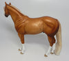 SHIMMEY AND SHAKE~OOAK DAPPLE CHESTNUT ISH MODEL HORSE 4/10