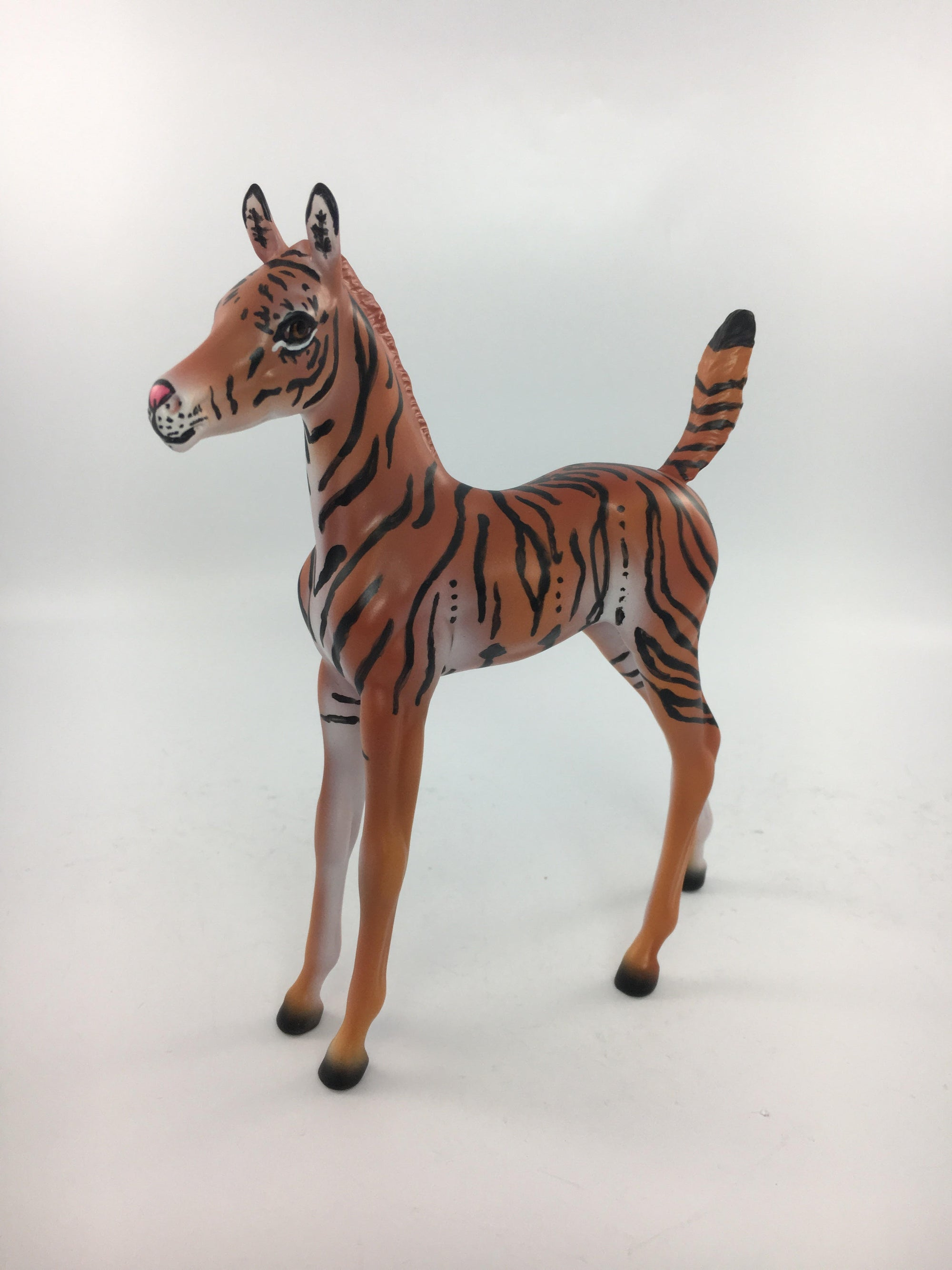 FAUNA~LE-7-TIGER FOAL MODEL HORSE 10/31/17