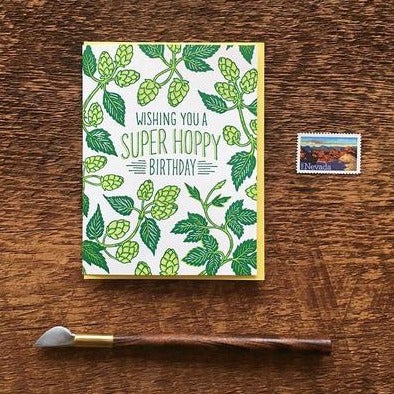 Super Hoppy Birthday Card