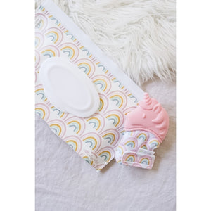 Silicone Teething Mitt - Unicorn