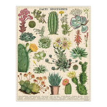 Load image into Gallery viewer, Cacti & Succulents 1000 Piece Puzzle