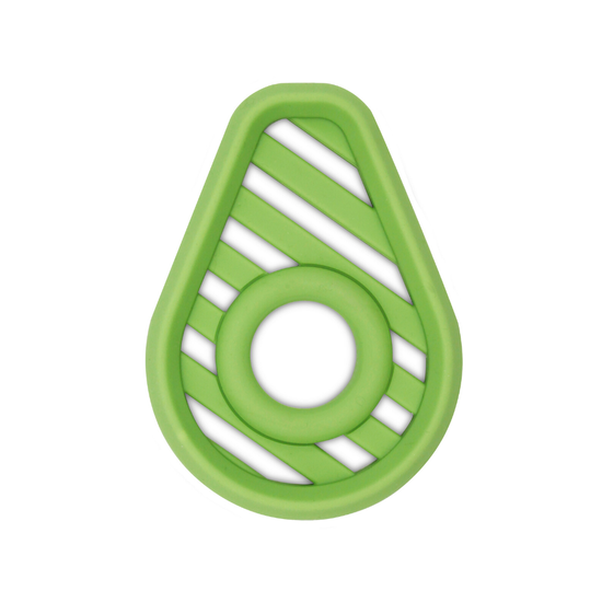 Silicone Baby Teether - Avocado