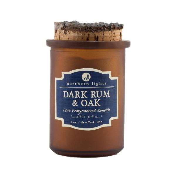 Dark Rum & Oak Candle